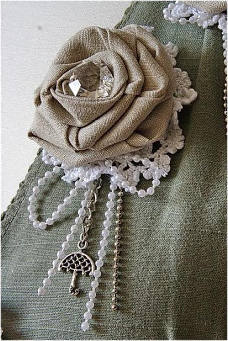 Украшения текстильные своими руками